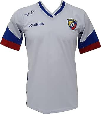 Camiseta de fútbol de Colombia para hombre, de la Nueva Copa América 2016: Amazon.es: Ropa y accesorios