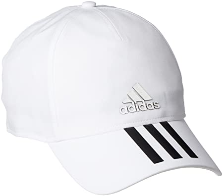 f5d8aacf8d515 Adidas CG1784 C40 3-Stripes Climalite Cap - Black White Black Black Blck