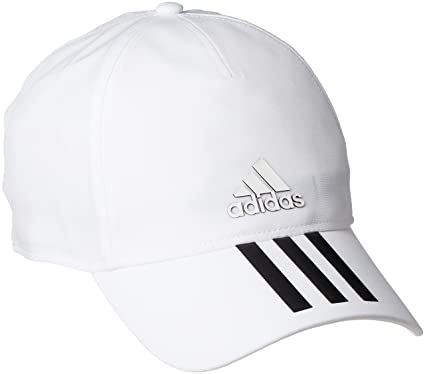 f678e53f214 adidas Hat Training C40 3-Stripes Climalite Cap Fashion Logo White New  CG1782 (OSFM