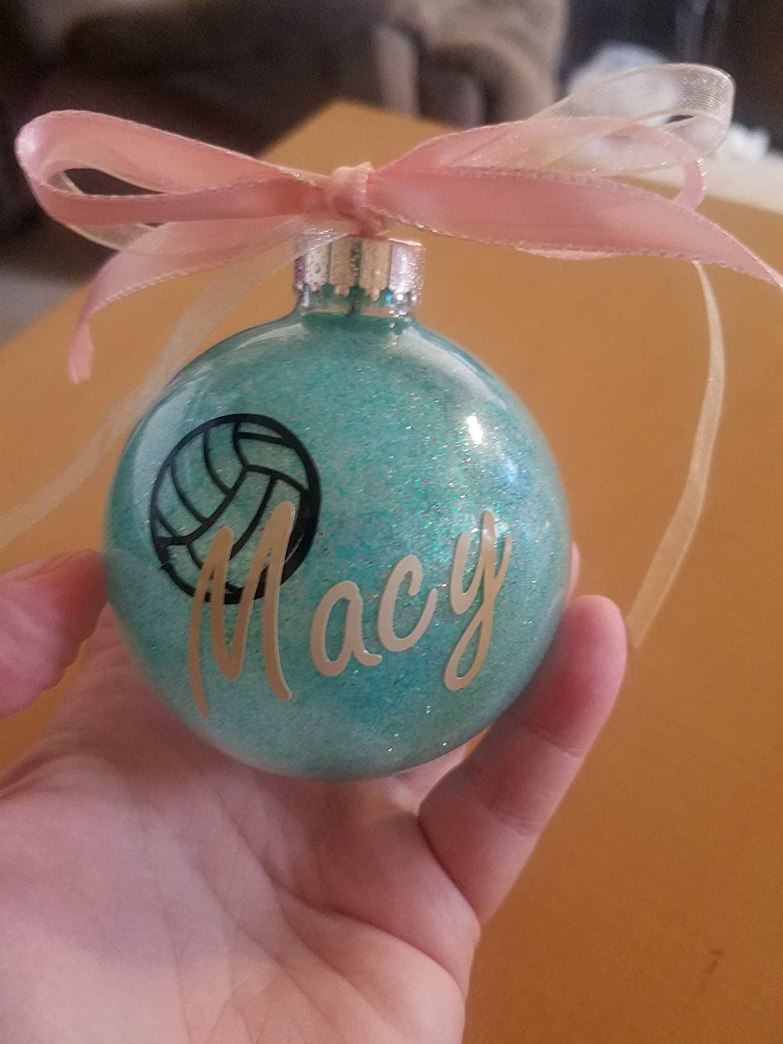 Amazoncom Volleyball Sport Team Personalized Ornament