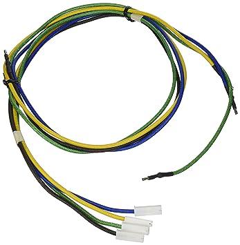 81E84nWw1sL._SY355_ amazon com ge wb18k10035 range stove oven wire harness home oven wire harness at suagrazia.org