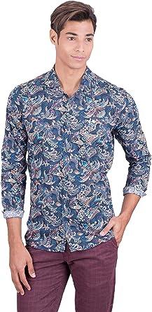 La Vespita Camisa con Estampado de Flores y Logo Vespa ...