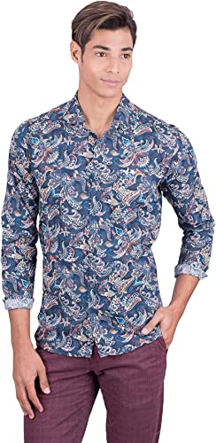 La Vespita Camisa con Estampado de Flores y Logo Vespa: Amazon.es: Ropa y accesorios