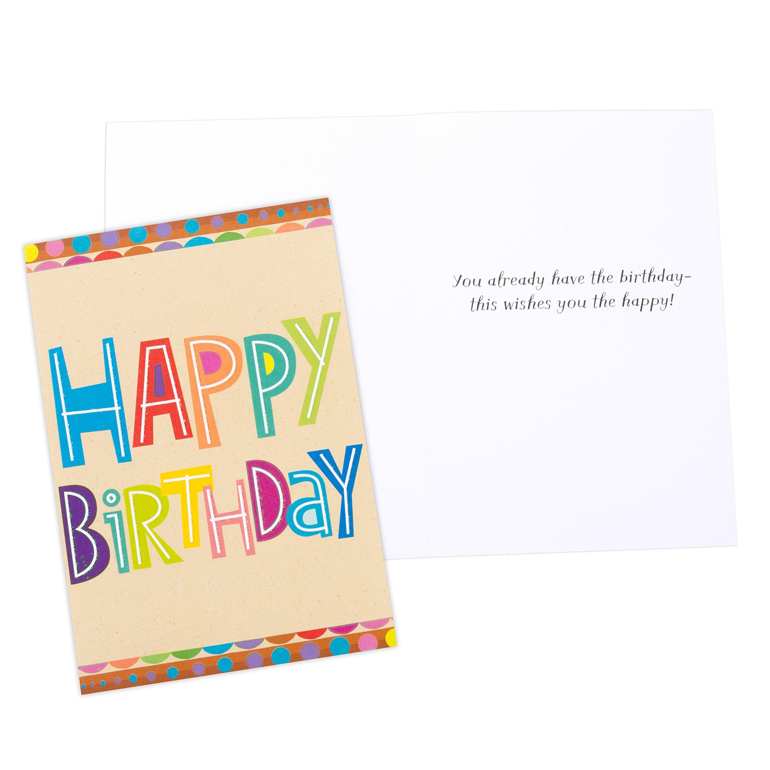 Assorted Birthday Greeting Cards Hallmark Birthday Icons 12 Cards