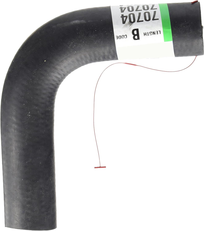Radiator Coolant Hose-Curved Radiator Hose Upper,Lower Dayco 70749