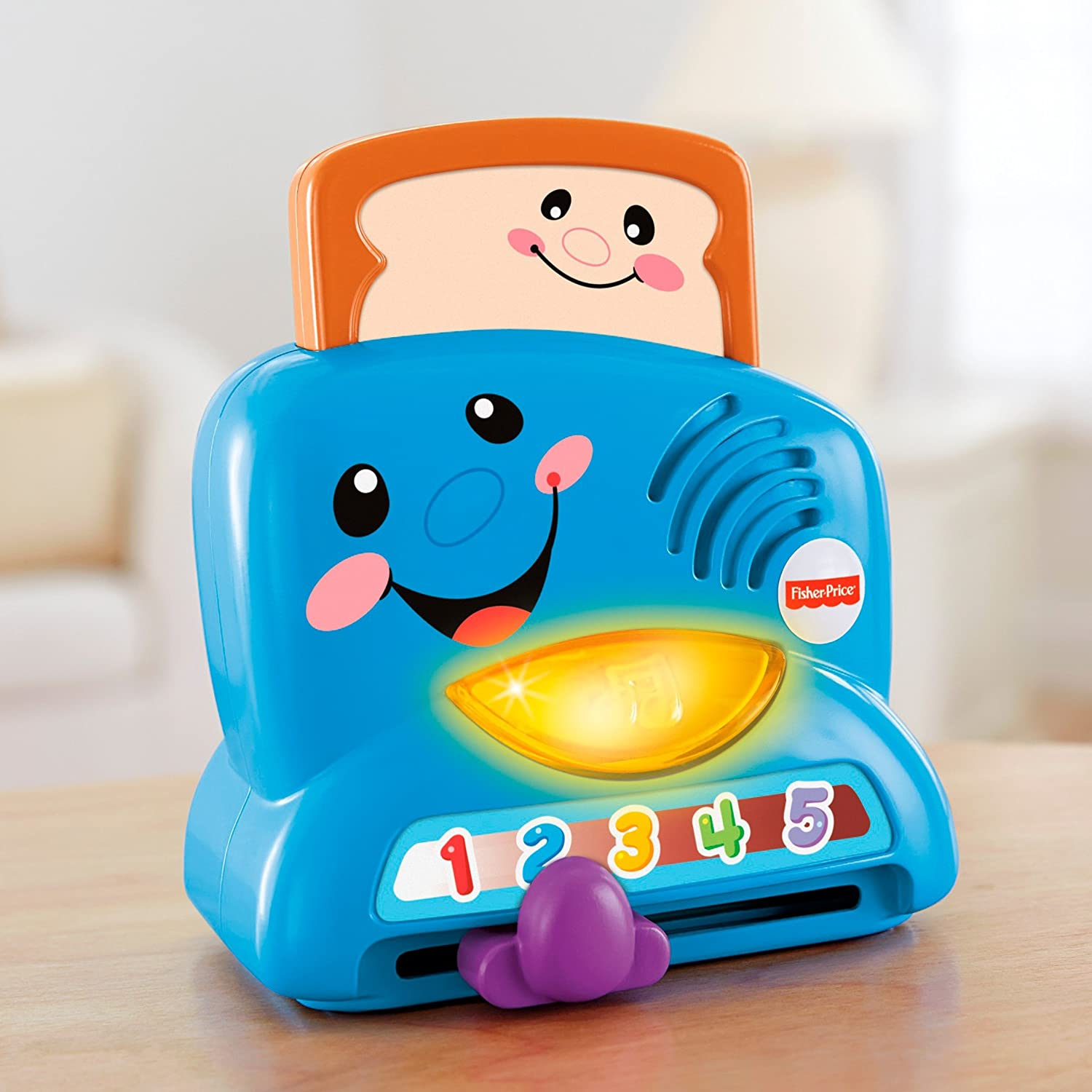 Fisher Price Laugh U0026 Learn Peek A Boo Toaster