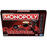 Hasbro Gaming Monopoly Game: Marvel Deadpool Edition