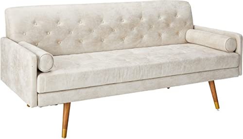 Christopher Knight Home Truda Mid Century Modern Microfiber Sofa
