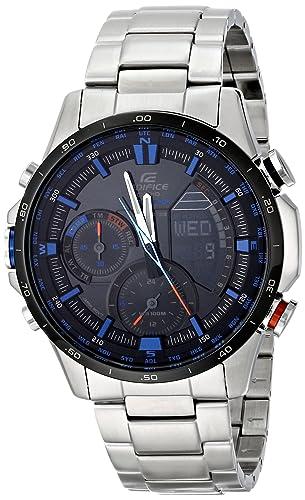 Casio Hombre era-300db-1 a2vcr neón iluminador Analog-Digital Display Quartz Reloj, color negro y plata: Casio: Amazon.es: Relojes