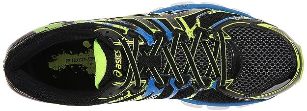 new product 252bb 7362b Amazon.com   ASICS Men s Gel Sendai 2 Running Shoe, Black Onyx Flash  Yellow, 10 M US   Road Running