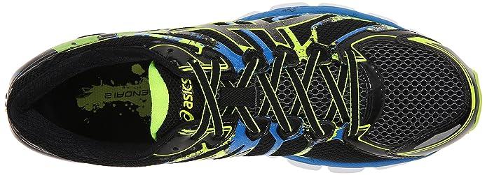 new product 92641 c5c43 Amazon.com   ASICS Men s Gel Sendai 2 Running Shoe, Black Onyx Flash  Yellow, 10 M US   Road Running