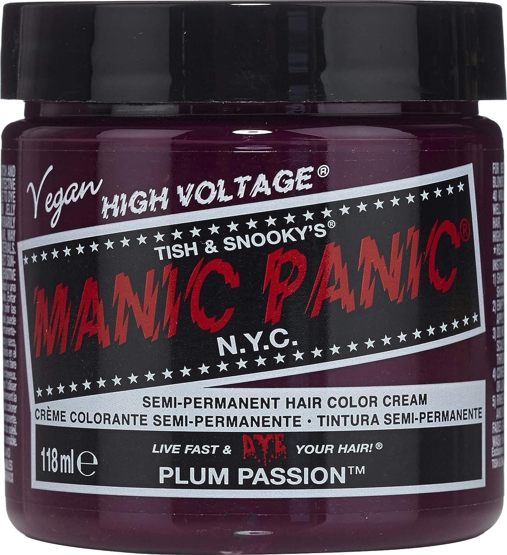 Manic Panic - Plum Passion Classic Creme Vegan Cruelty Free Semi-Permanent Hair Colour 118ml