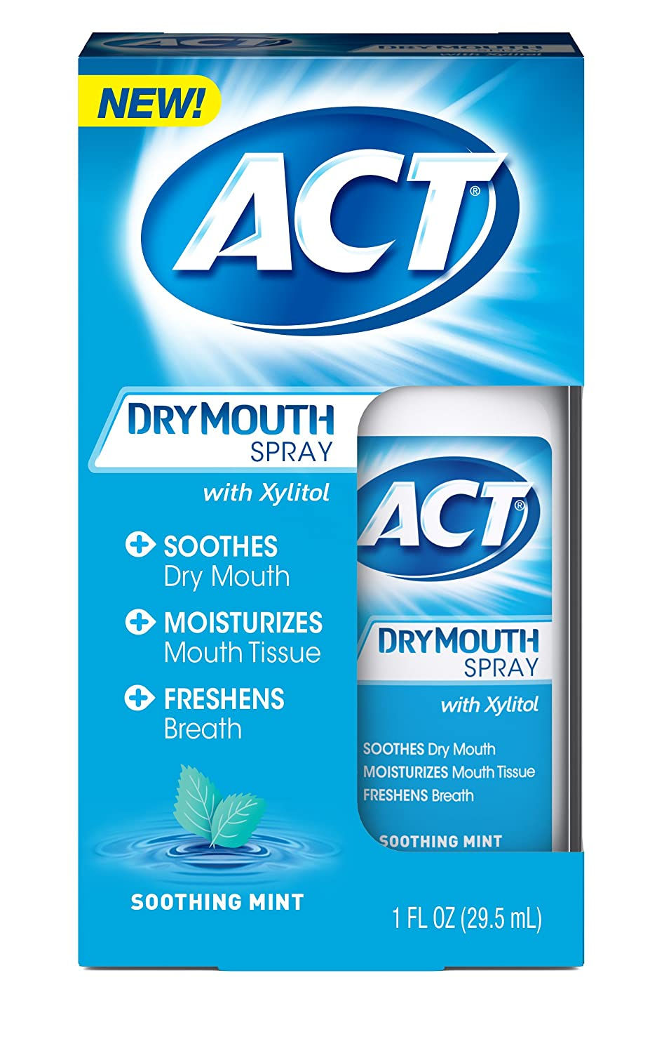 ACT Dry Mouth Spray, 1 Ounce Chattem Inc.