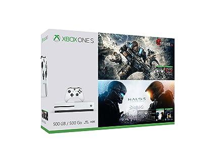Xbox One S Gears & Halo Special Edition Bundle (500GB