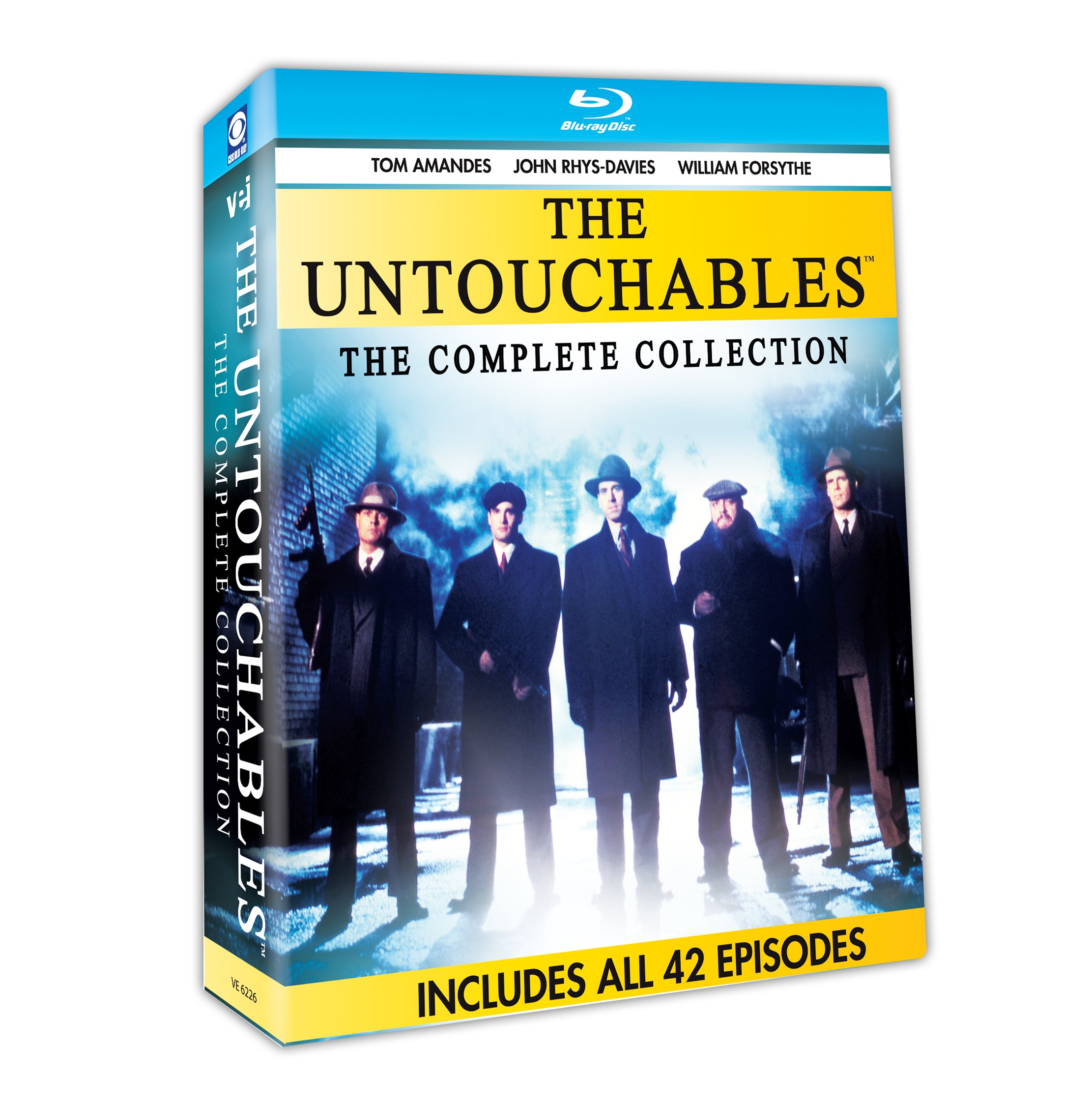 Blu-ray : The Untouchables: The Complete Collection (Boxed Set, 6PC)