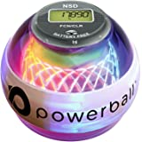 New NSD Powerball 280Hz Autostart Fusion Pro LED Colour Active Gyroscope Ball Arm Exerciser, Wrist & Hand Grip Strengthener - Rehabilitates Tendonitis Elbow, Wrist Pain & Finger Injury