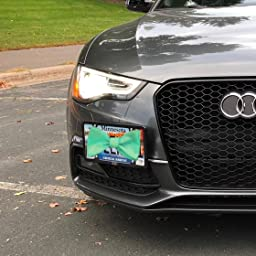 S4 RS4 2008-2016 The Platypus Tow Hook No Holes License Plate Mount for Audi A4