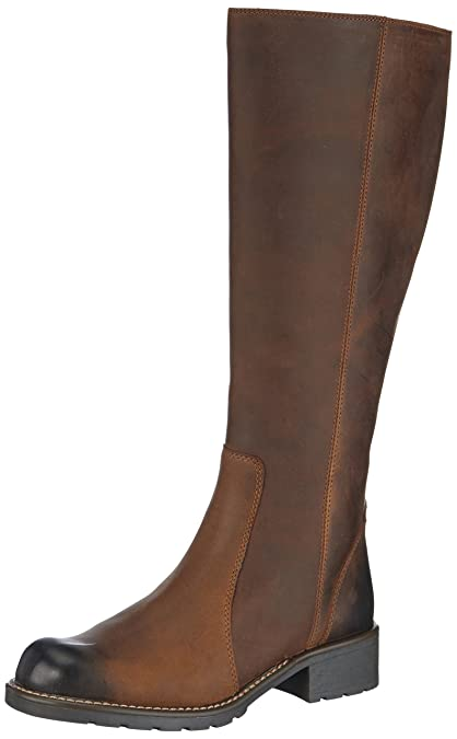 Clarks Womens Orinoco Eave Boots Brown 3 UK