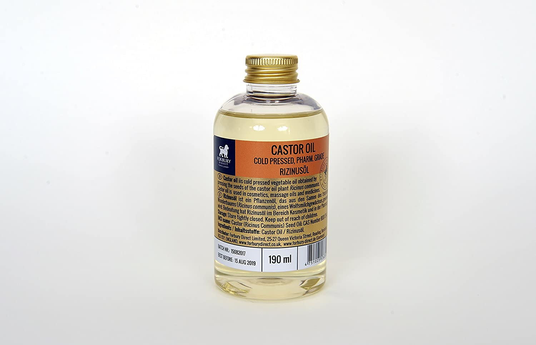 190 ml rizinusöl, ricinusöl, Castor Oil, 100% pura y kaltgepr esst: Amazon.es: Belleza