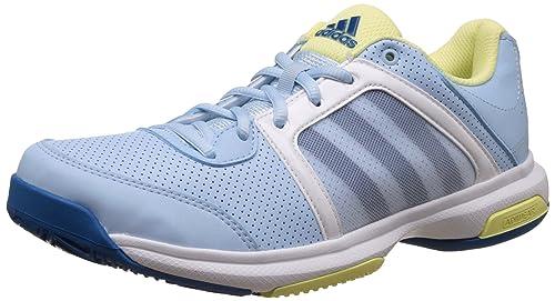 Buy Adidas Women's Barricade Aspire Str Iceblu, Uniblu and Iceyel ...