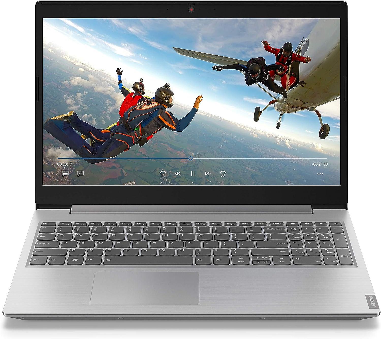 "Lenovo IdeaPad L340 81LG0041US 15.6"" Intel Pentium Gold 5405U 4GB Memory 1TB HDD 2.3GHz Windows 10 DVD+RW Laptop - Platinum Gray"