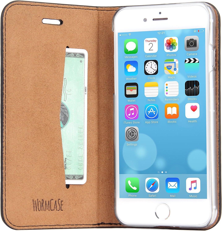 Wormcase Echt Ledertasche Für Apple Iphone Se 2020 Elektronik