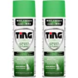 Ting Antifungal Spray Powder for Athlete's Foot, Jock Itch, Ringworm, Max Strength, 4.5-Ounces (2-Pack)