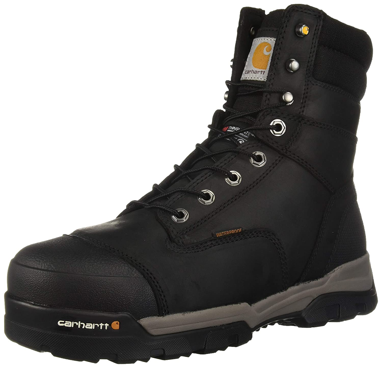 82cba4e5379 Carhartt Men's CSA 8-inch Ground Force Wtrprf Insulated Work Boot ...