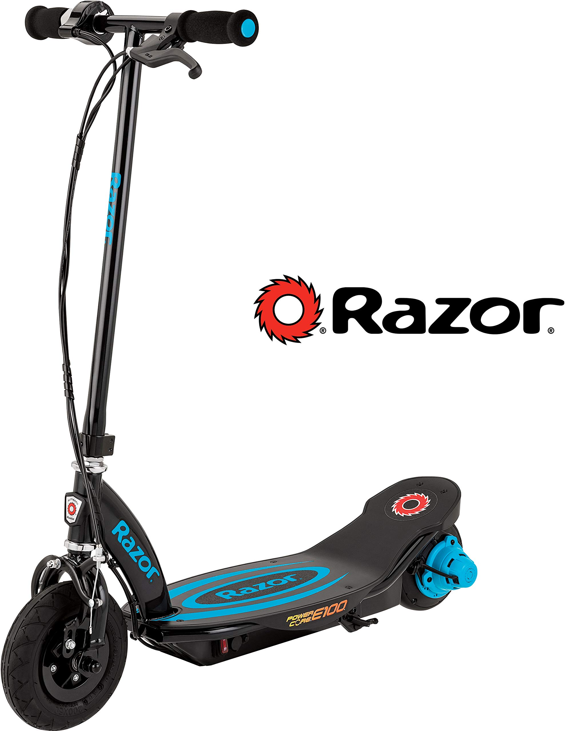 Razor Power Core E100 Electric Scooter - Blue by Razor
