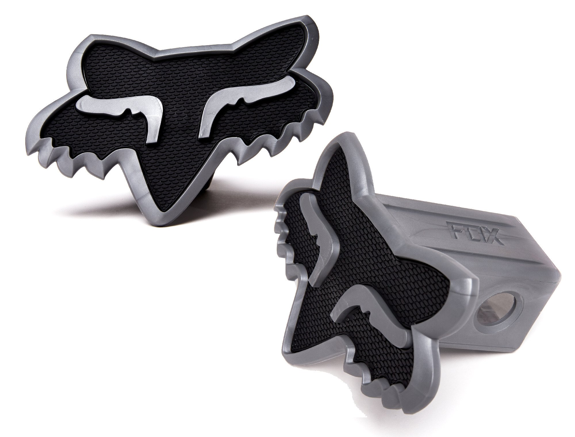 Fox Racing Trailer Hitch Cover (BLACK/CHARCOAL) by Fox Racing