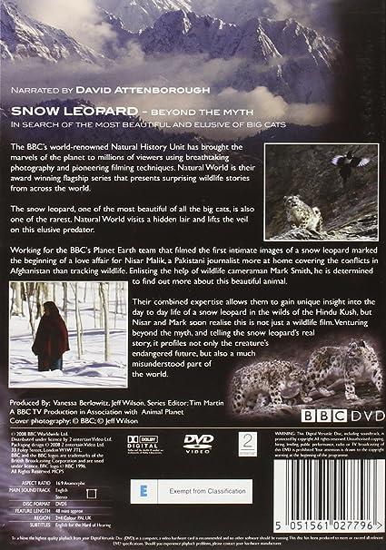 a19c5d08c Natural World - Snow Leopard  DVD   Amazon.co.uk  Natural World  DVD ...