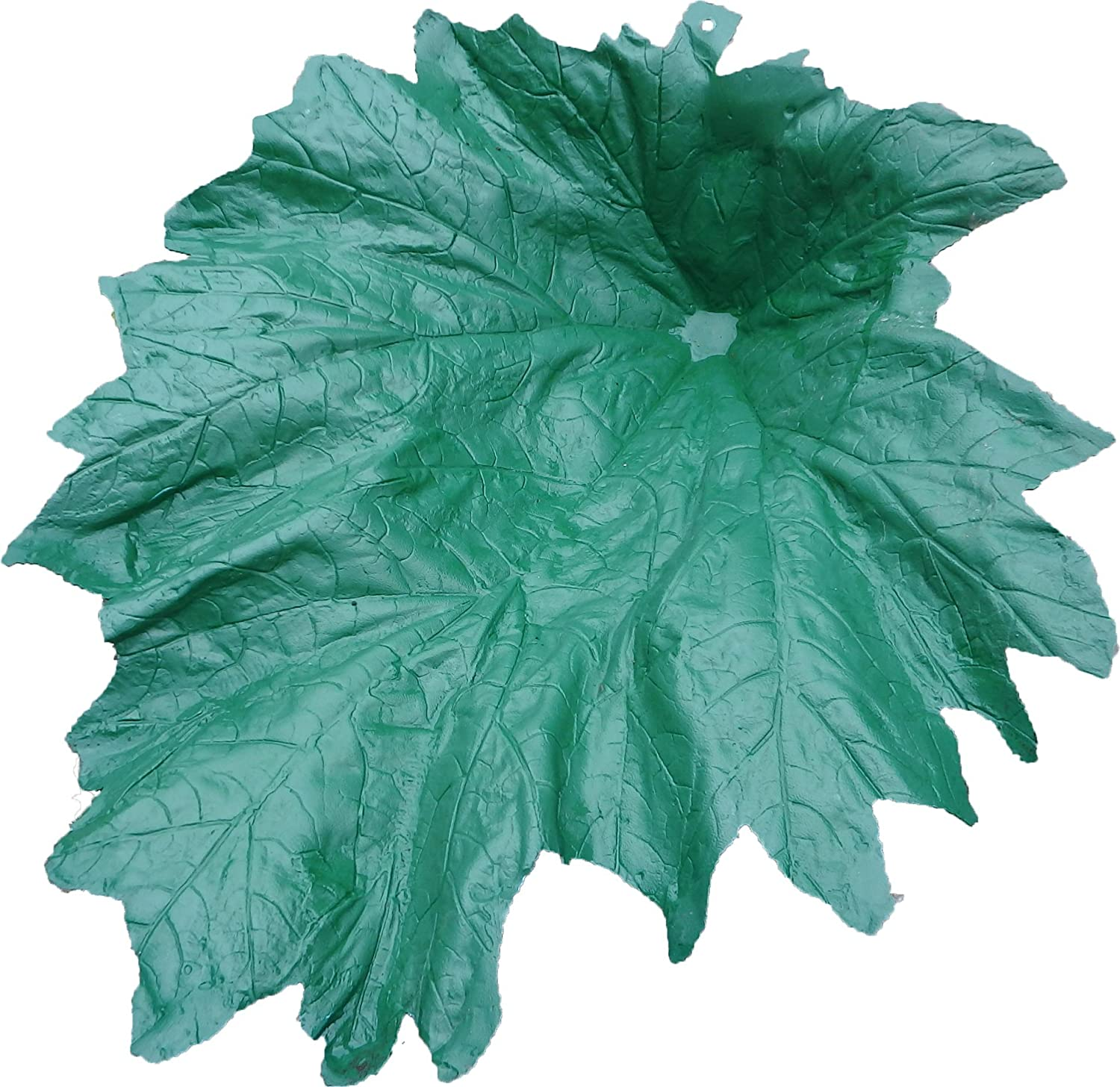 Small Plastic Moulded Gunnera Leaf Garden Feature Perfect For