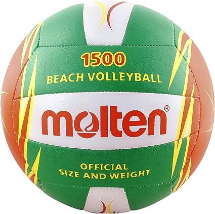 MOLTEN Volleyball Balón, Unisex, Verde, 5: Amazon.es: Deportes y ...