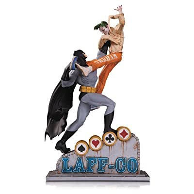 DC Collectibles Batman vs. The Joker Laff-Co Battle Resin Statue: DC Collectibles: Toys & Games
