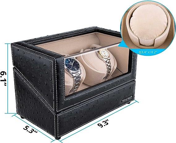 Amazon.com: TRIPLE TREE Bobinadora de reloj con almohada de ...