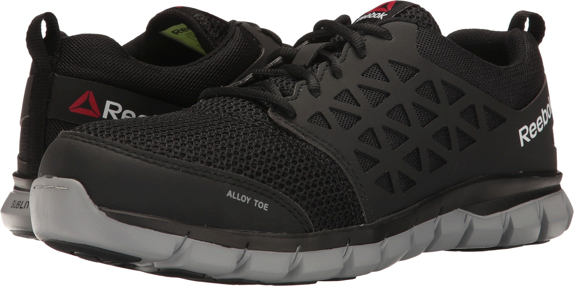 Reebok Work Men's Sublite Cushion Work EH Black Synthetic 12 EEEE US by Reebok Work