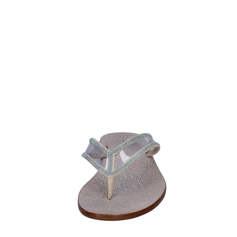 Sandalias Eddy Para Plástico Beige Daniele Mujer Zapatos 5RAjL34