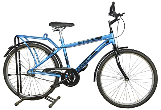 Atlas Astro IBC 26 Inches Single Speed Blue  amp; Black Kids' Cycles