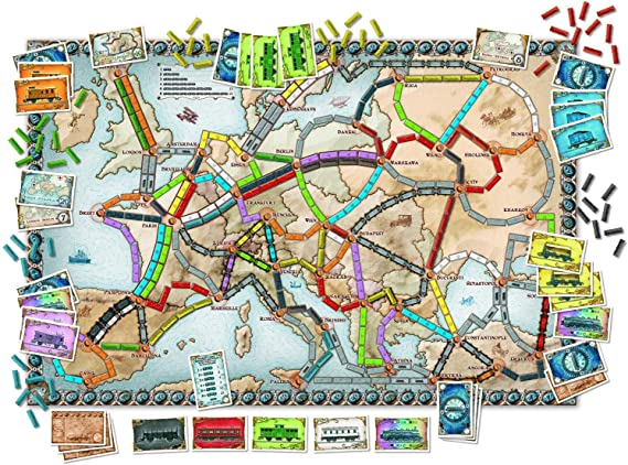 Days of Wonder Ticket to Ride Europe - Juego de Mesa de Estrategia ...