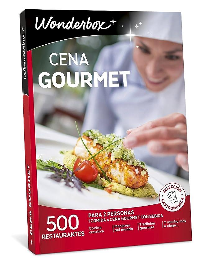 WONDERBOX Caja Regalo -Cena Gourmet- 500 restaurantes únicos para Dos Personas: Amazon.es: Deportes y aire libre