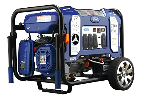 Ford 7,750W Portable Switch Go Technology and Electric Start