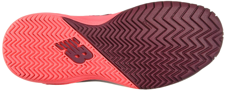 New Balance WC996 B Damen Laufschuhe Burgund (Rojo (O3))