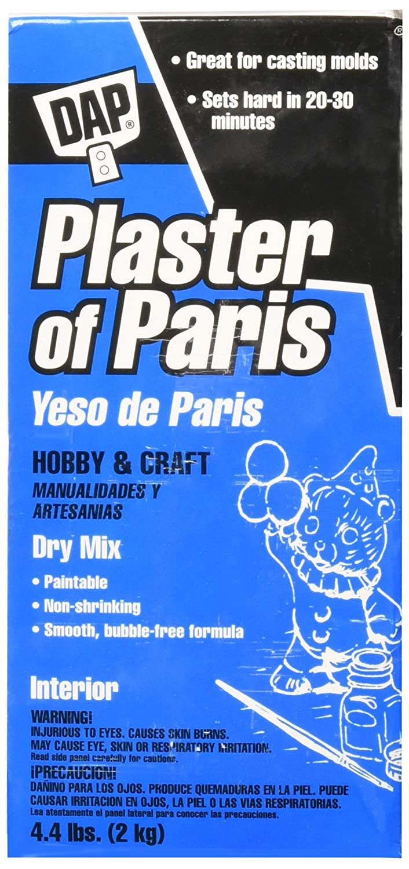 Amazon.com: Dap 53005 Plaster of Paris Box Molding Material, 4.4-Pound, White, 3 Pack: Arts, Crafts & Sewing