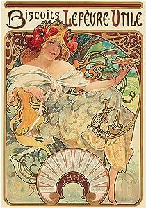 AD Food Biscuits Vintage Nouveau Sweet France Art Print Picture F12X072