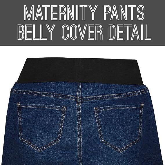 Hybrid /& Company Super Comfy Stretch Womens Skinny Maternity Jeans PM4822SX Rinse WASH 3X