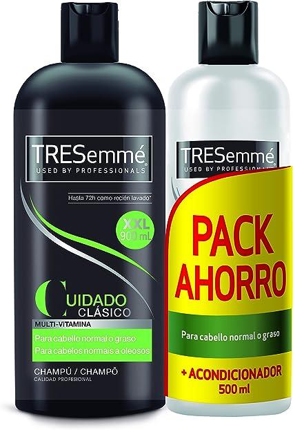 Tresemmé Clásico Pack Champú y Acondicionador - 2 Paquetes de 900 ...