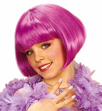 WIDMANN 62842 - peluca Jenny Jazz, púrpura