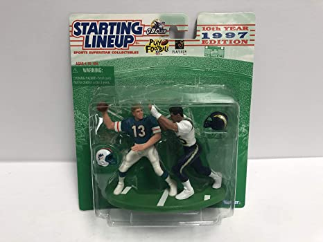 Dan Marino and Junior Seau 1997 SLU Collectible Toy Action ...