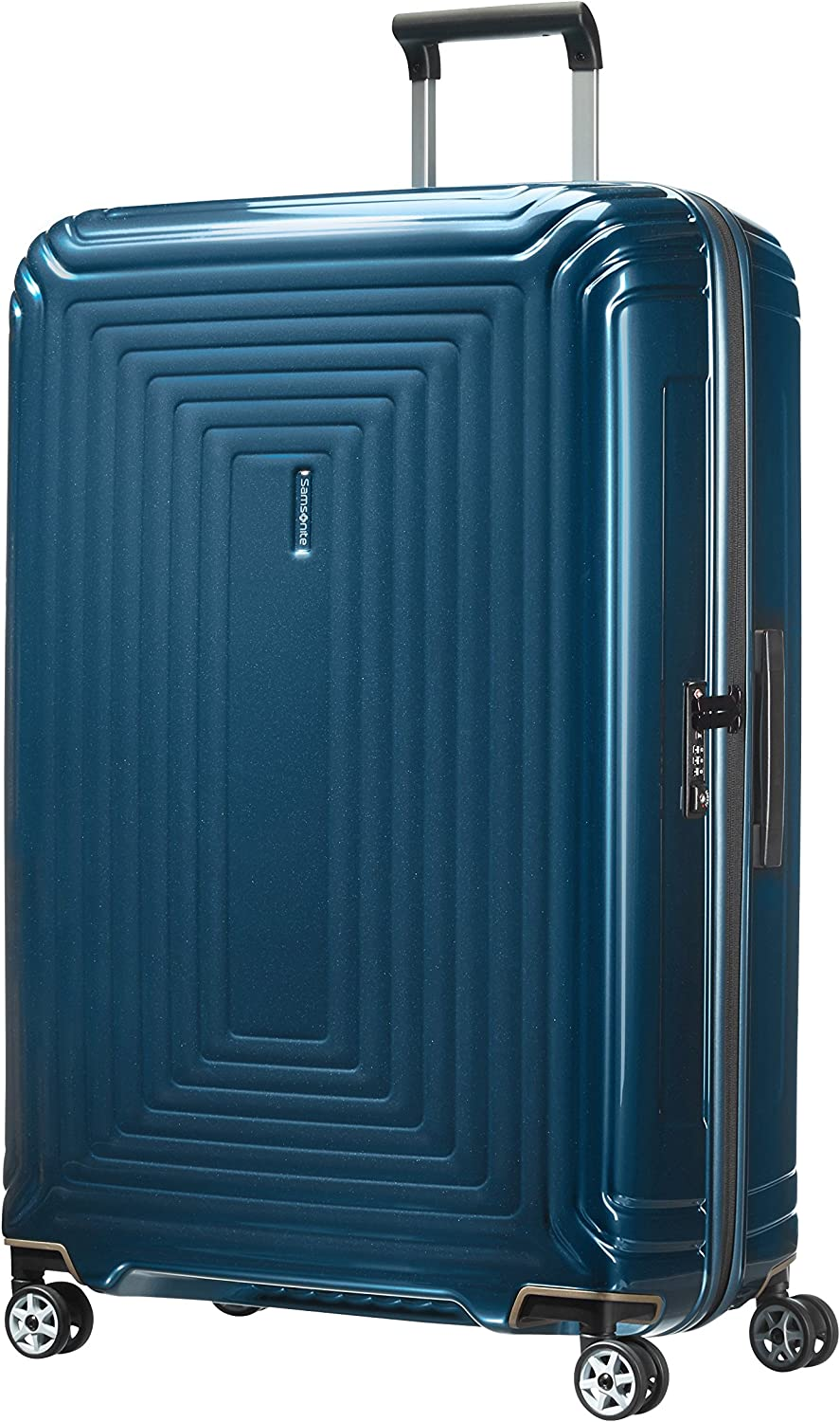 Samsonite Neopulse - Spinner XL Maleta, 81 cm, 124 L, Azul (Metallic Blue)