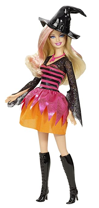 amazoncom barbie halloween party doll 2011 toys games